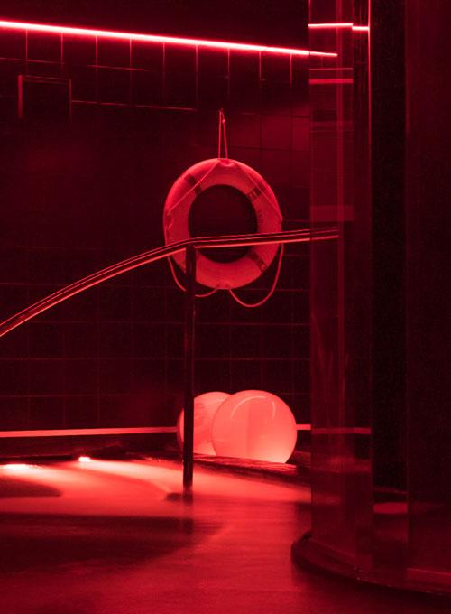 Piscine Évolution balneotherapie hotel sauna professionnel