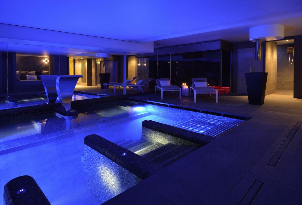 Piscine Évolution spa sauna hotel tourisme